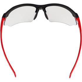 UVEX Sportstyle 802 V Occhiali, nero/rosso
